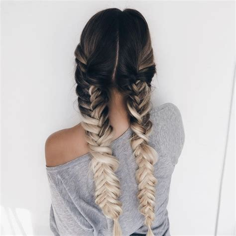 braids hairstyles tumblr for school long braided hair tumblr www pixshark com images
