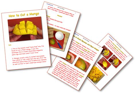 gets me mangoes books how to ripen and cut a mango all in pictures gotta eat