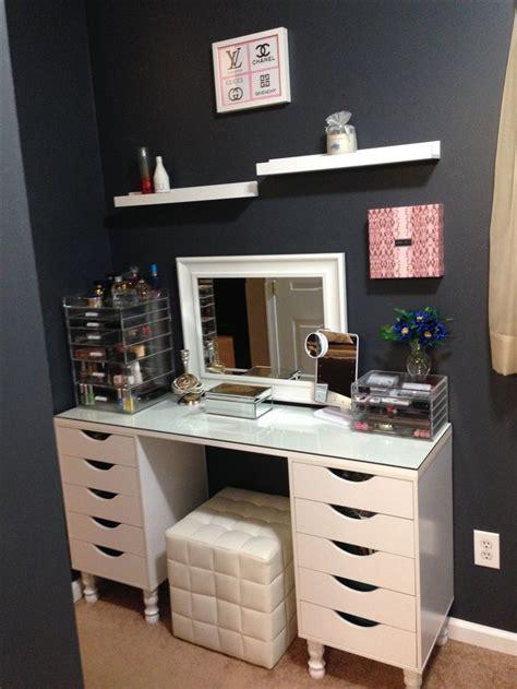 Ikea Vanité by Best 25 Ikea Makeup Storage Ideas On Diy