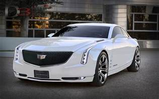 Cadillac Ocm Cadillac Elmiraj Concept In White Is Simply Stunning Gm