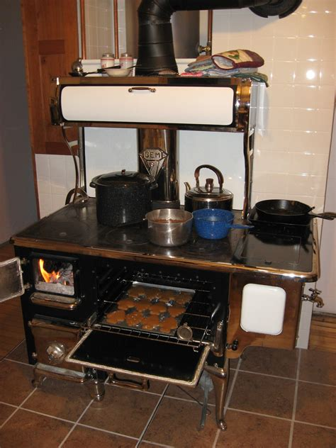 wood cookstove cooking december