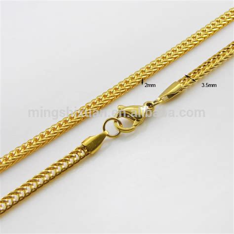 Kalung Korea Clavicle Necklace Gold Plated 18k Gold thin gold chain mens best chain 2018