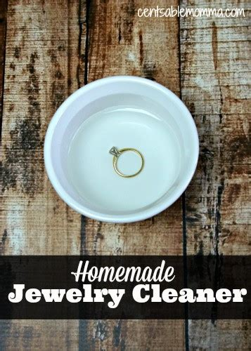 make your own jewelry cleaner jewelry cleaner centsable momma