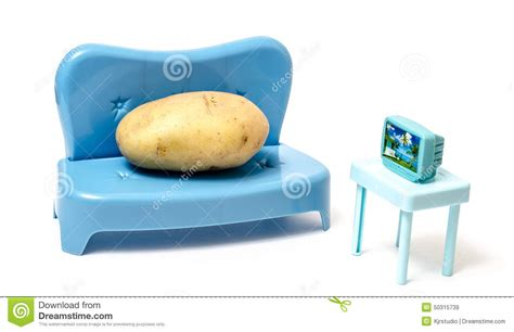 couch potato free movies couch potato watching tv stock photo image 50315739