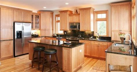 cabinets light granite granite countertops with light cabinets