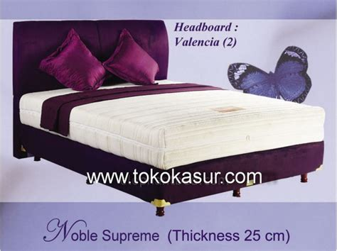 Matras Alga Bed elephant noble supreme toko kasur bed murah simpati furniture