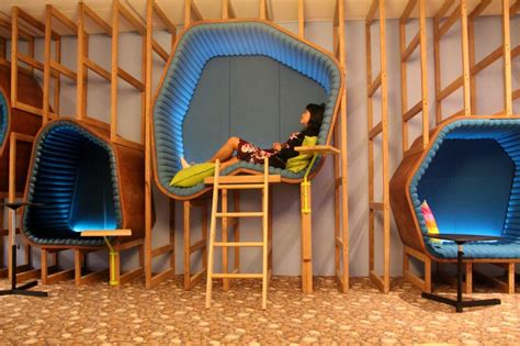 Google Office Sydney by Epic New Trend Populates Offices With Nod Pods Rest At