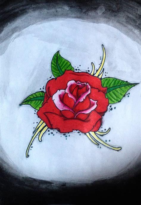 simple rose tattoo designs simple rose tattoo design idea by luxakari on deviantart