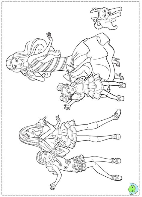 barbie christmas coloring pages az coloring pages