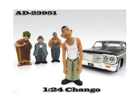 Hommies Figure Diorama Diecast Wheels Wolfe chango quot homies quot figure for 1 24 scale diecast model cars by american diorama