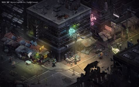 rulebooks shadowrun 5 shadowrun returns images show isometric view