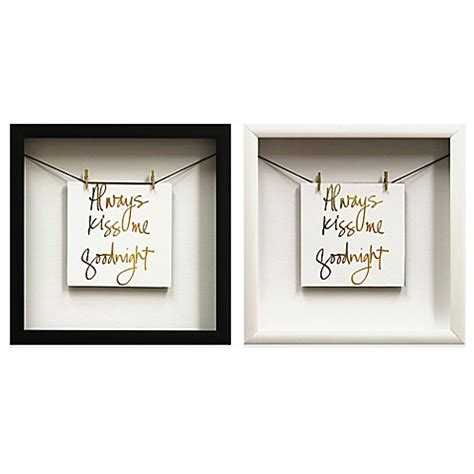 bed bath beyond wall decor always kiss quot gold foil wall d 233 cor bed bath beyond
