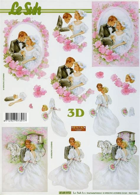 Wedding Decoupage Sheets - 68 best images about decoupage wedding on