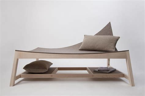 Minimal Furniture Design by Unique And Minimalist Chaise Longue Furniture Design
