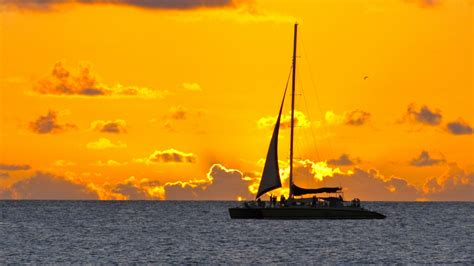 sunset catamaran cruise barbados jammin catamaran cruise loop barbados