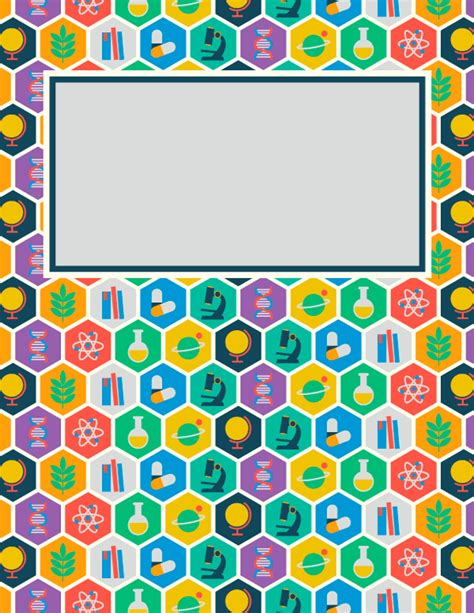 free printable binder covers no download free printable science binder cover template download the