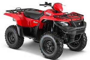 Suzuki Atvs 2015 Suzuki King Atv Models Released Atvconnection