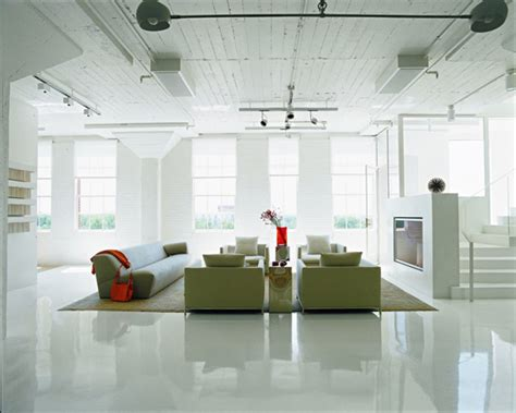loft decorating ideas loft apartment decorating ideas glossy floors and
