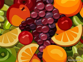 wallpaper cartoon fruit mixed fruit wallpaper fruit wallpaper 7004507 fanpop