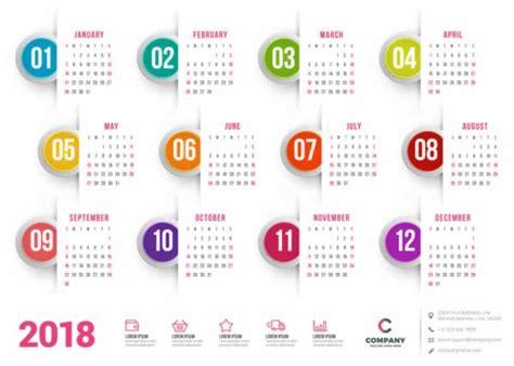 calendario a o 2016 blank calendar design 2018 10 calendarios 2018 listos para imprimir recursos gratis