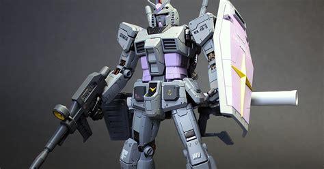Gundam Player Mg 30 Rx 78 Bandai Original Mobile Kit gundam mg 1 100 rx 78 2 gundam ver 3 0 painted build by zgmfxg