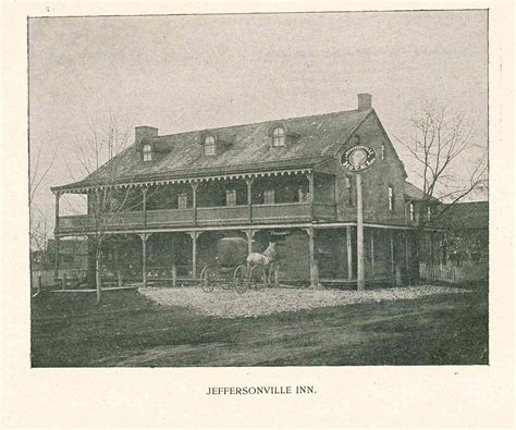 Jeffersonville Post Office by The Jeffersonville Inn Historical Society Of Montgomery