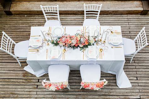 Tischdeko Hochzeit Apricot hochzeitsdeko in koralle und apricot friedatheres