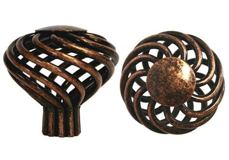 machined antique copper cabinet drawer   bird cage  knob  mm cheap discount
