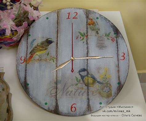diy decoupage 1000 images about orologi on decoupage
