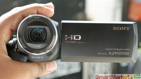 Handycam Sony Cx 405 sony hdr cx 405