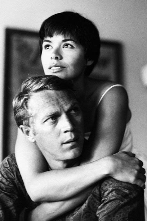 Steve McQueen with his wife Neile, photographed by Leonard