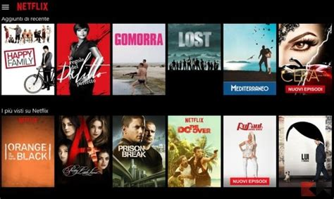 film streaming netflix streaming serie tv migliori siti app e add on kodi