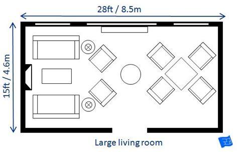 list  small medium  large living room size