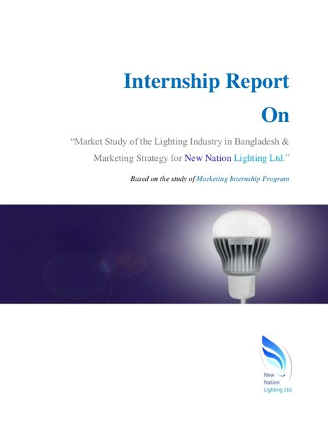 The Mba Internshio by Mba Internship Report