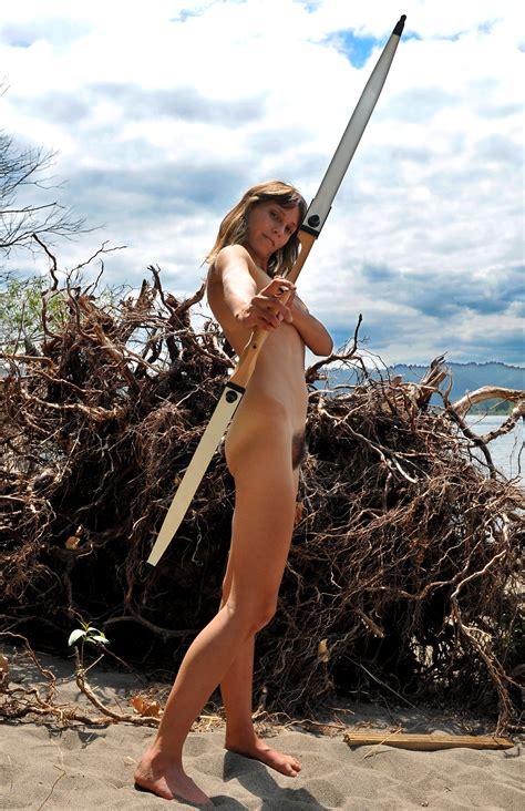 File Nude Female Archer  Wikimedia Commons