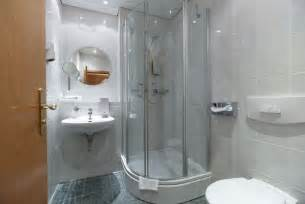wonderful Modern Bathrooms For Small Spaces #5: small-shower-ideas-small-bathroom-designs-corner-shower-cabin-sliding-doors.jpg