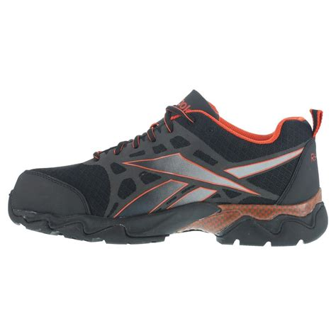 athletic composite toe shoes reebok rb1061 beamer mens black composite toe athletic