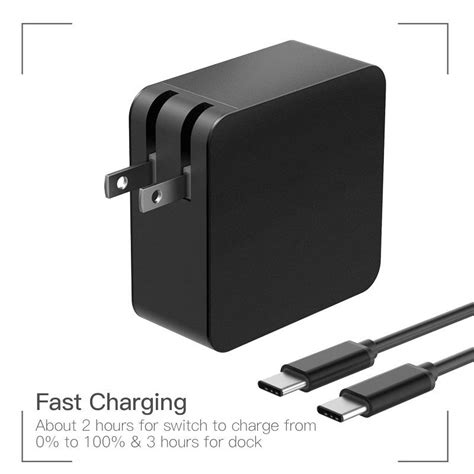 Adaptor Hp Xiaomi 2017 pd 65w usb c type c charger power adapter laptop ac