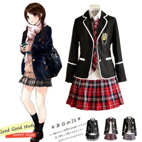 pattern japanese school uniform aliexpress com buy girl japanese school uniform cosplay