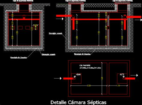 detail septic camera dwg detail  autocad designs cad