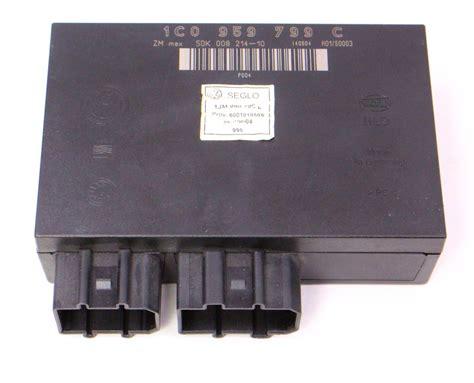 comfort control inc comfort control module ccm 02 05 vw jetta mk4 genuine