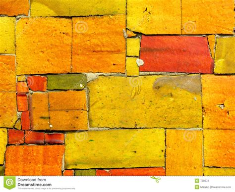 Bathroom Tile Design Patterns yellow tiles mosaic random pattern stock photo image