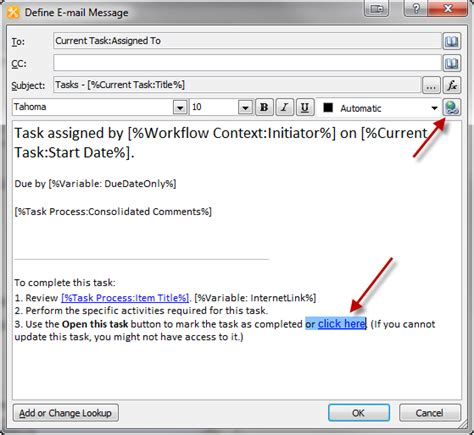 sharepoint 2010 task workflow sharepoint approval workflow customizing email