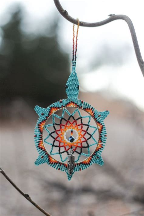 how to make a beaded dreamcatcher american oglala lakota handmade beaded by