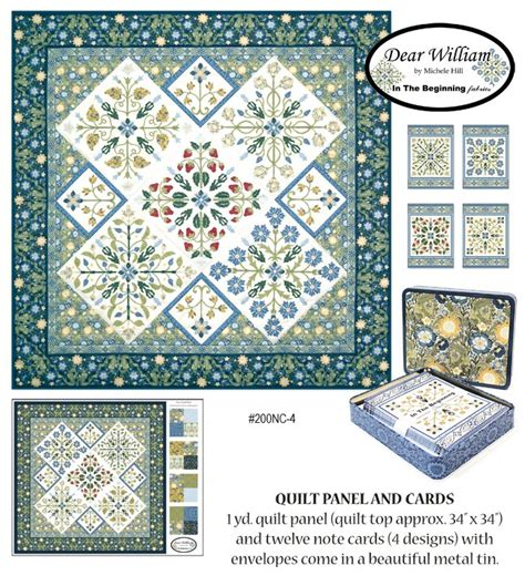 quilt pattern note cards quilt panel and note cards
