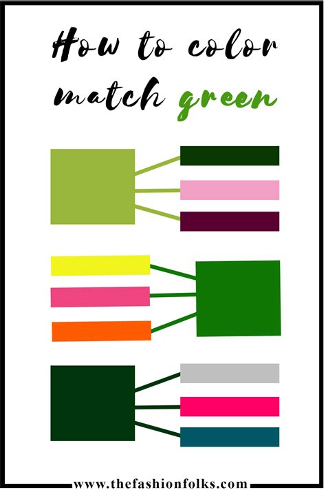 colors that match how to color match green the color of the year the