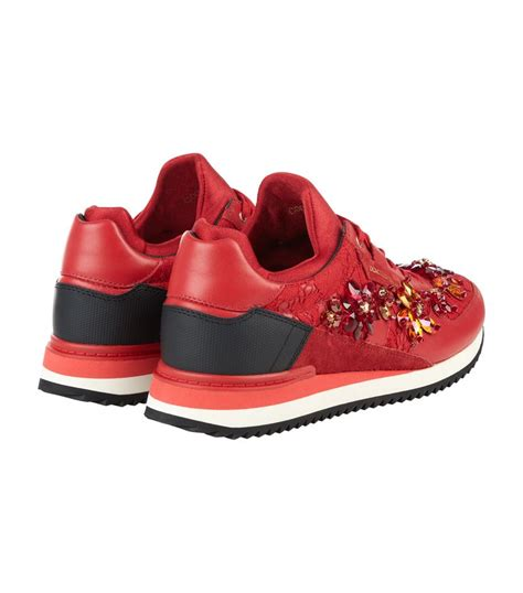 Lace Shoes Dg Inspired dolce gabbana lace sneaker in lyst