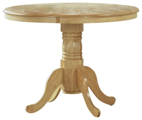 Light Wood Dining Tables Monarch Specialties 40 Inch Dining Table In Light Wood Transitional Dining Tables