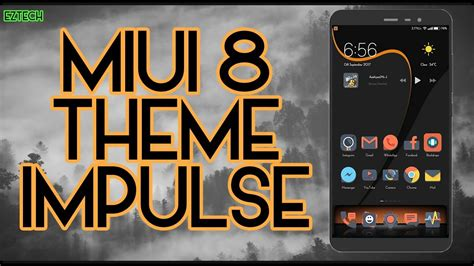 miui themes from third party are not supported miui 8 miui 9 third party theme impulse 2017 youtube