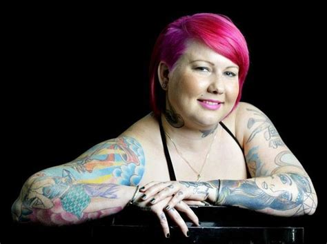 heavily tattooed women tattooed demand respect quot we are beautiful